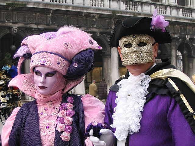 Маскарад в Венеции