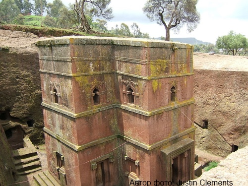 Bet Giyorgis church, Lalibela Фото: Justin Clements