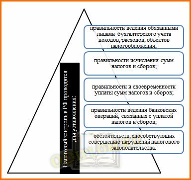 Цели налогового контроля