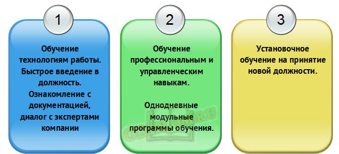 Форматы обучения развитие персонала