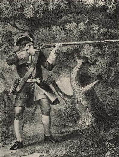 Фузелер армейского пехотного полка 1720