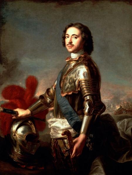 Петр Великий. 1717 год. Ж.-М. Натье.