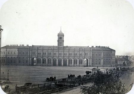 вокзал Петербург-Московской железной дороги