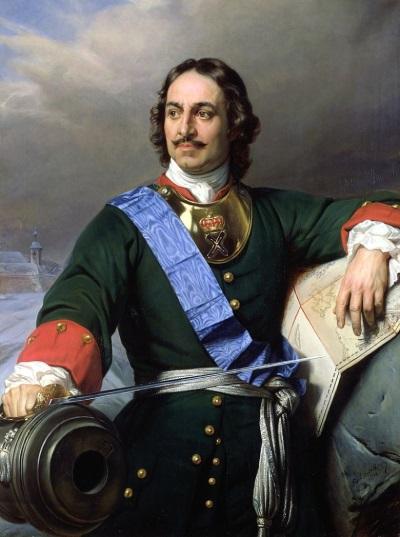 Поль Деларош. Романтизированный портрет Петра I (1838)