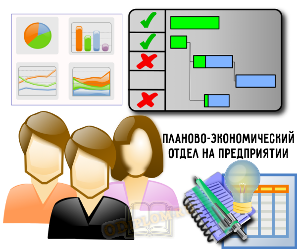 Планово-экономический отдел на предприятии