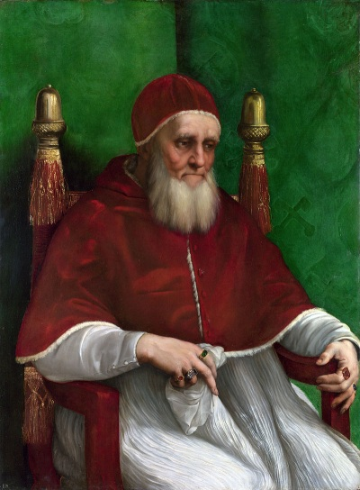 Рафаэль. Портрет Папы Юлия II