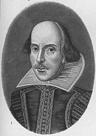 Шекспир. Гравюра работы Мартина Друшаута