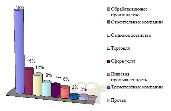 Структура корпоративного кредитования