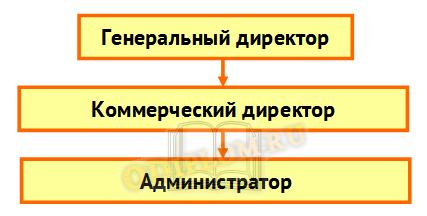 Структура управления турфирмы