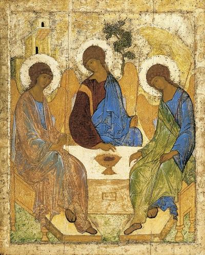 Святая Троица. Андрей Рублев